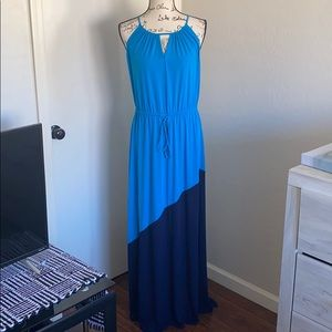 Laundry by Design Two Tone Maxi Dress